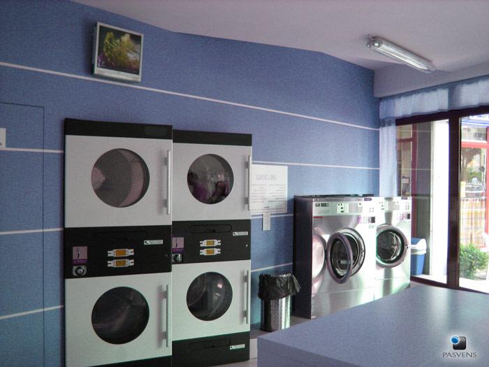 Pasvens lavanderia self service su strada pubblica for Lavanderia self service catania